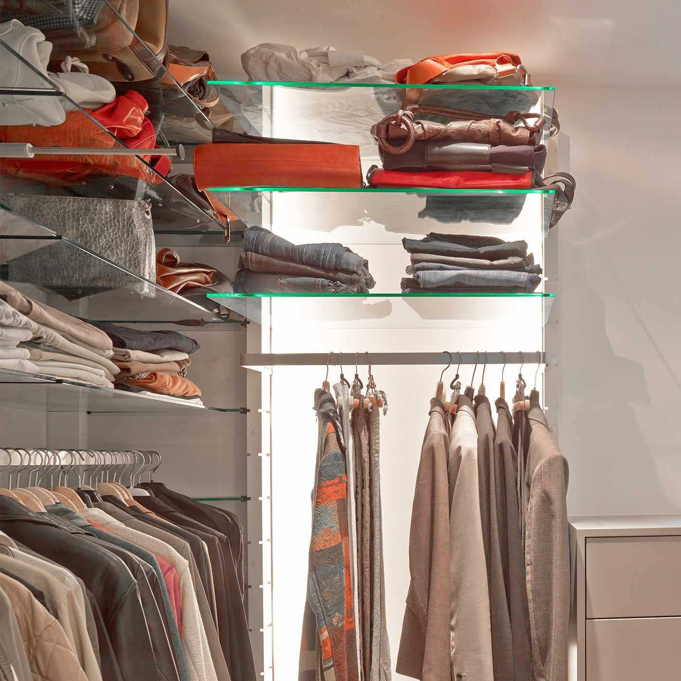 begehbarer kleiderschrank comfort m 204 ma 204 x 107 2 x 45 cm b x h x t. Black Bedroom Furniture Sets. Home Design Ideas