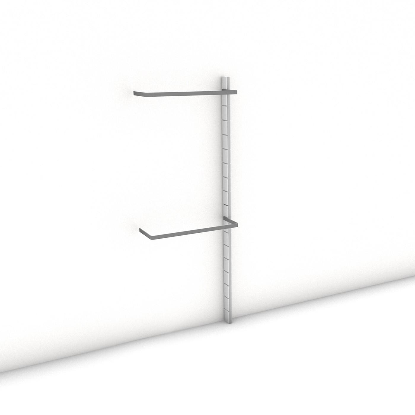 Begehbarer kleiderschrank maße  Begehbarer Kleiderschrank - Prime (XL) 81 - Anbauelement HANG-UP ...
