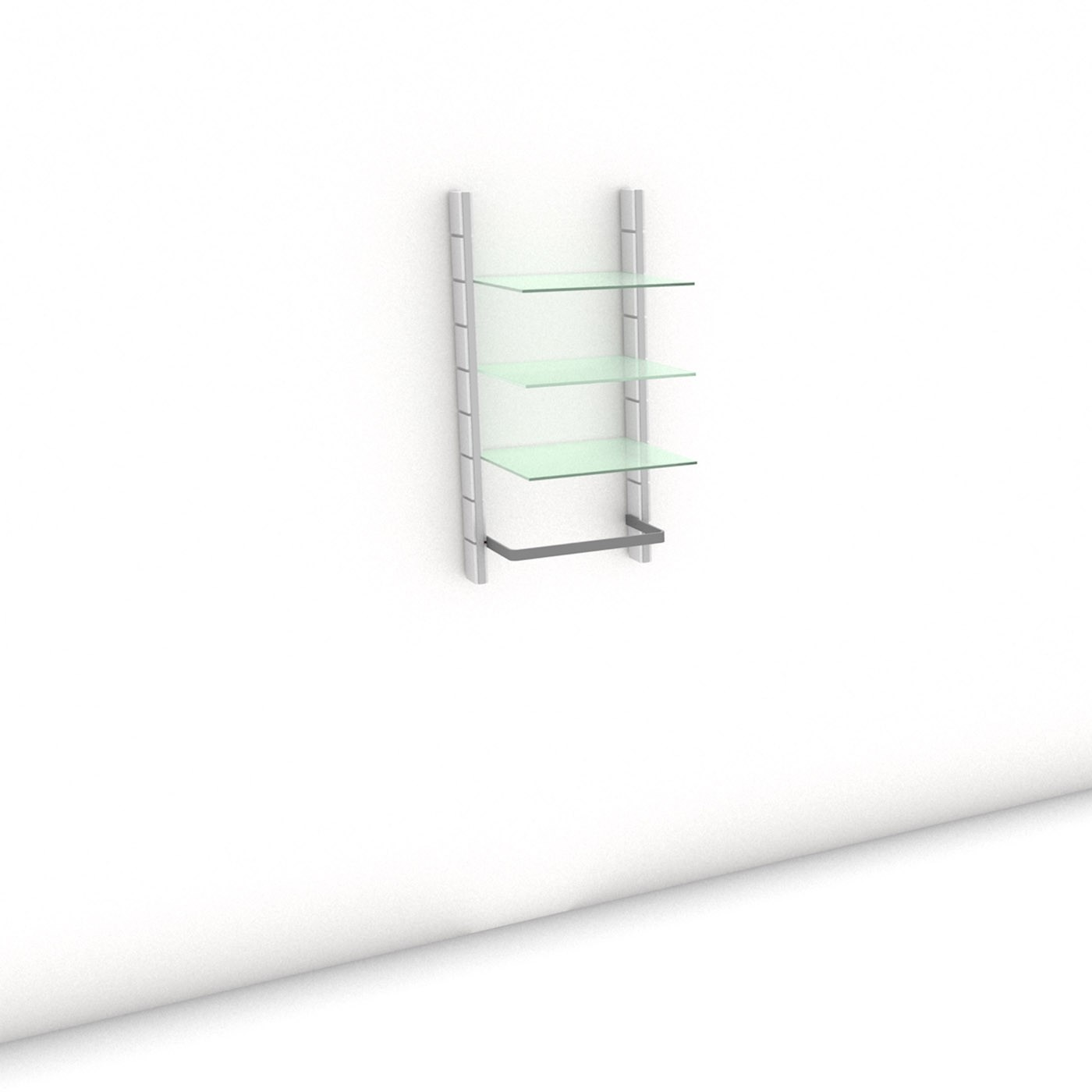 Begehbarer Kleiderschrank - Comfort (M) 54 -  Maß: 54 x 107,2 x 45 cm (B x H x T)