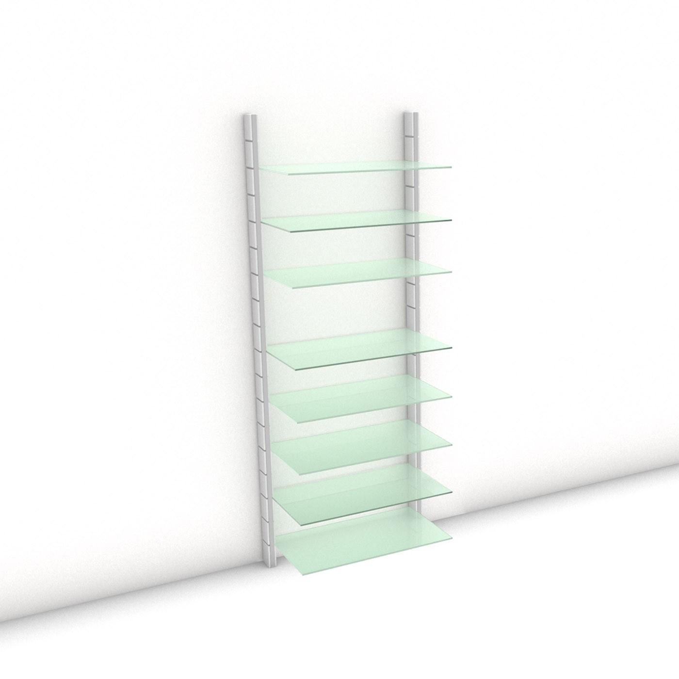 Begehbarer Kleiderschrank - Prime (XL) 84 - Maß: 84 x 215,2 x 45 cm (B x H x T)