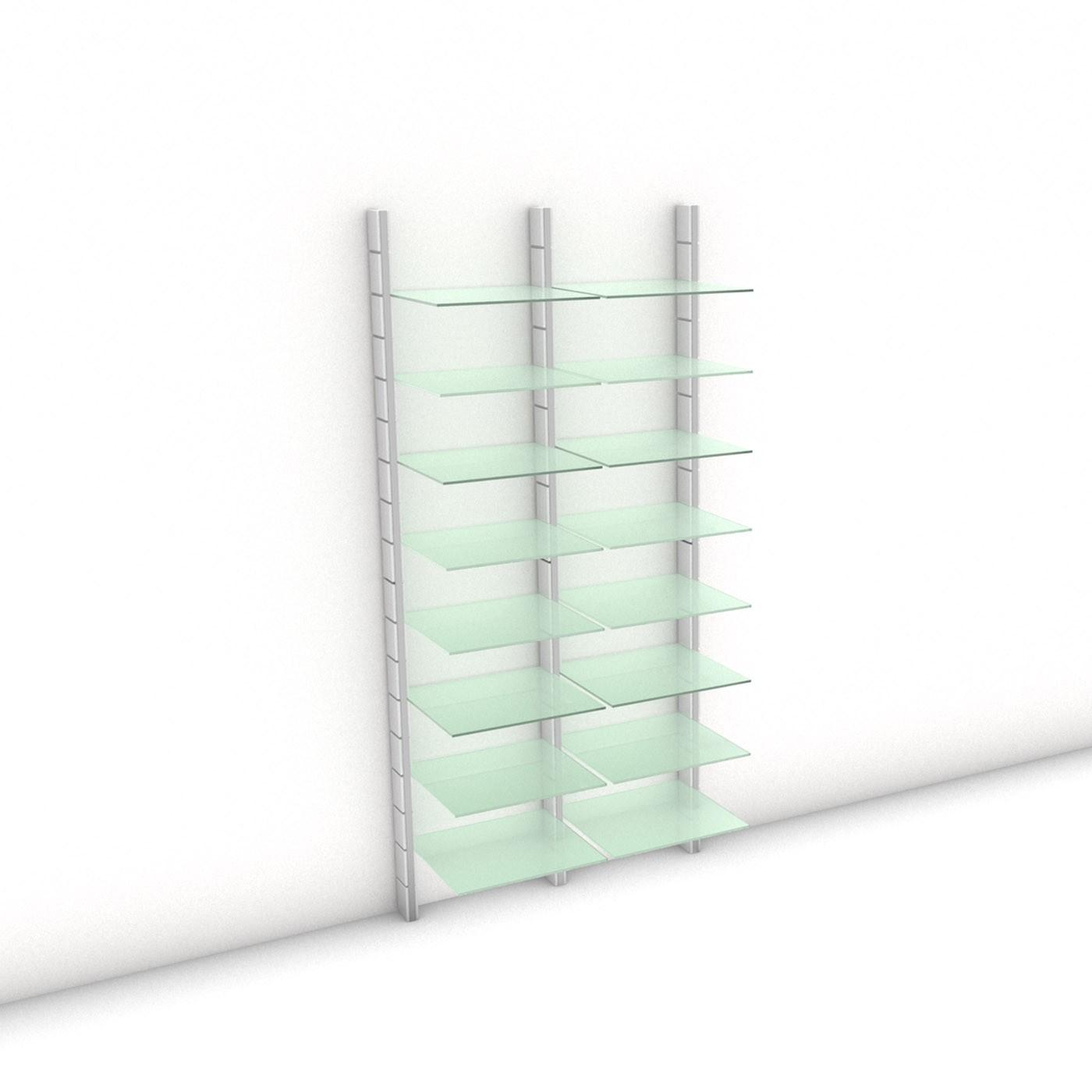 Begehbarer Kleiderschrank - Comfort (XL) 104 - Maß: 104 x 215,2 x 45 cm (B x H x T)
