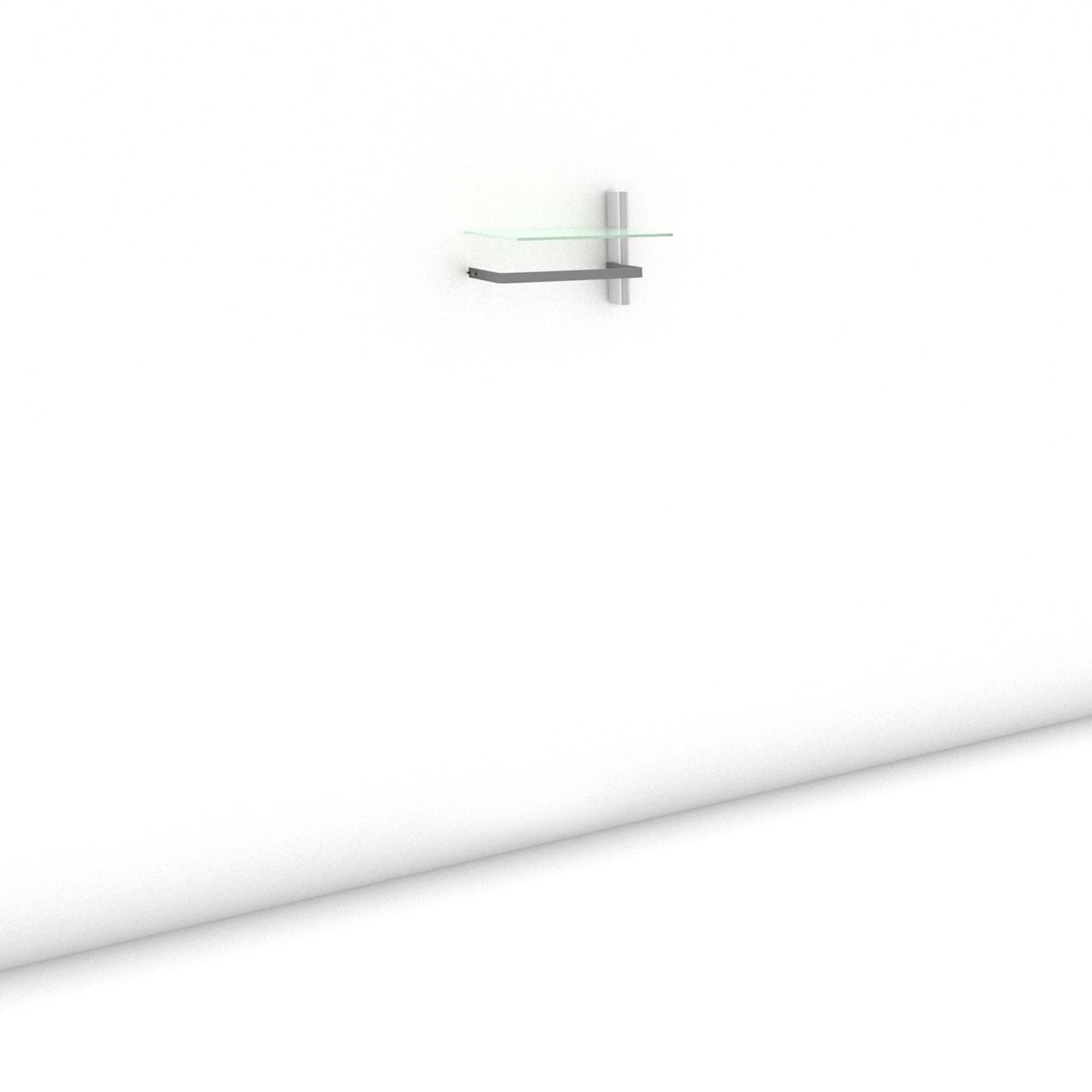 Garderobe - COAT-RACK - Comfort (S) 51 - Anbauelement - Maß: 51 x 35,2 x 45 cm (B x H x T)