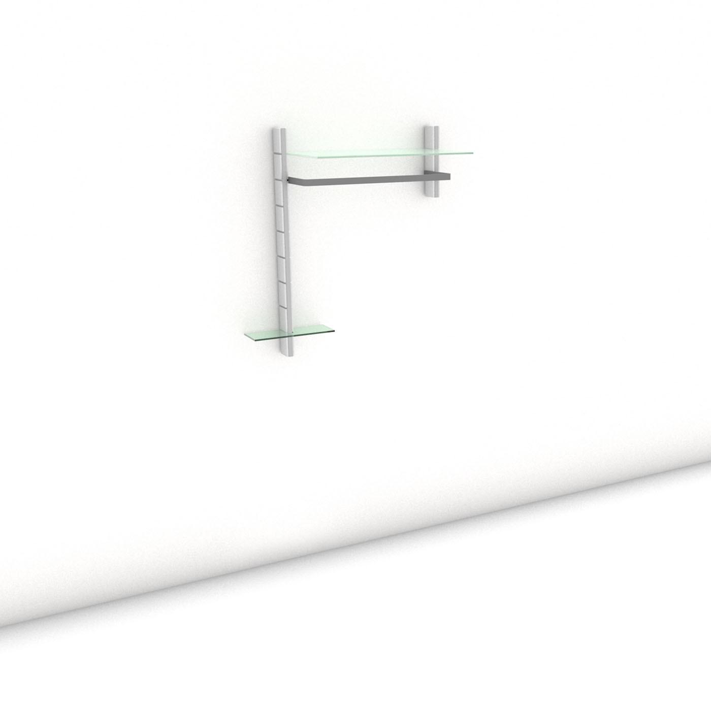 Garderobe - COAT-RACK - Prime (L) 102 - Maß: 102 x 107,2 x 45 cm (B x H x T)