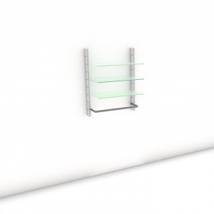 Begehbarer Kleiderschrank - Prime (M) 84 - Maß: 84 x 107,2 x 45 cm (B x H x T)