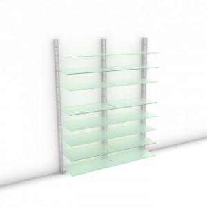 Begehbarer Kleiderschrank - Prime (XL) 164 - Maß: 164 x 215,2 x 45 cm (B x H x T)