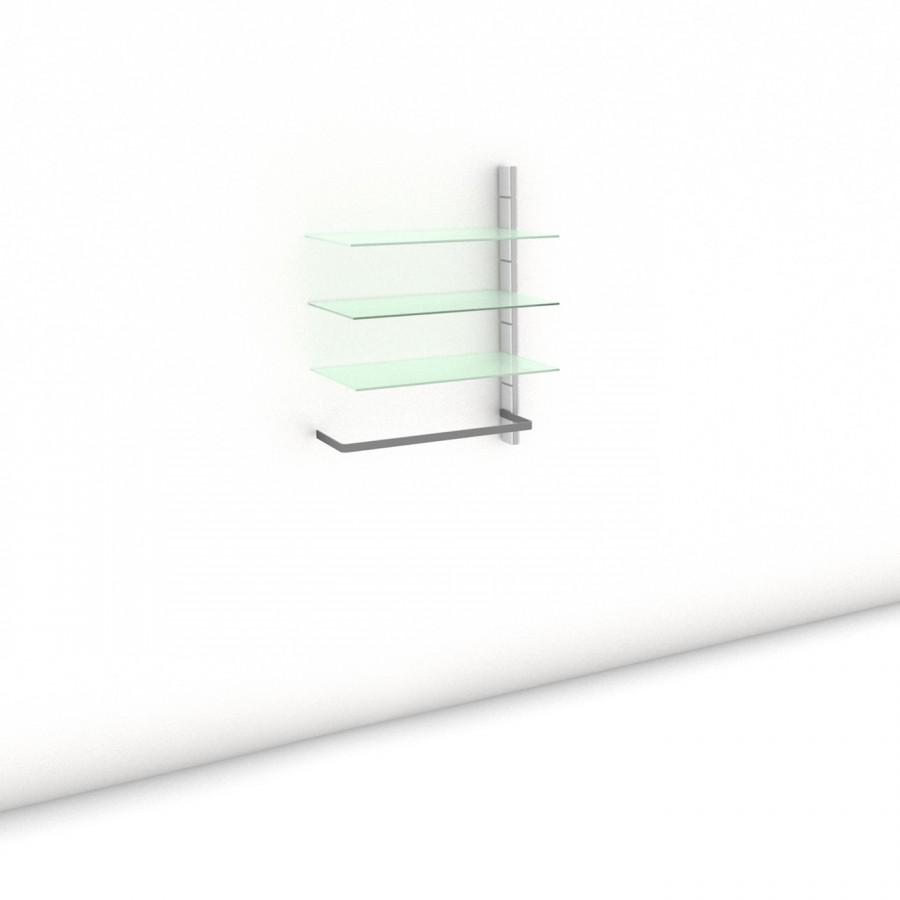 Begehbarer Kleiderschrank - Prime (M) 81 - Anbauelement - Maß: 81 x 107,2 x 45 cm (B x H x T)