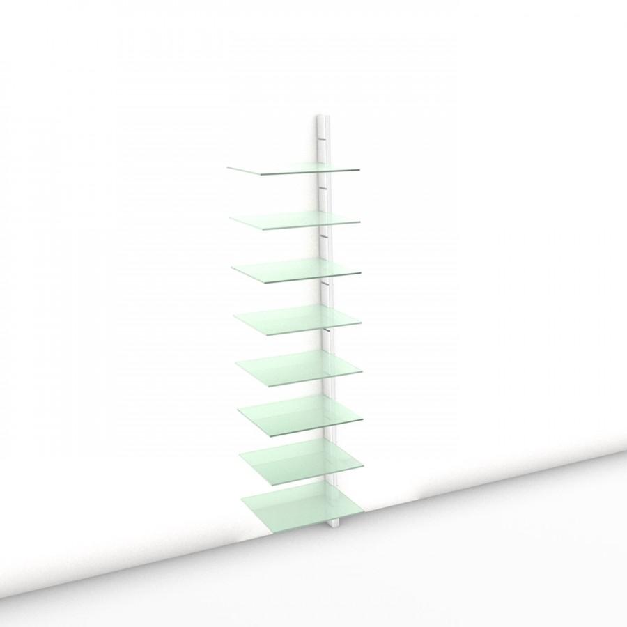 Begehbarer Kleiderschrank - Comfort (XL) 51 - Anbauelement LAY - Maß: 51 x 215,2 x 45 cm (B x H x T)