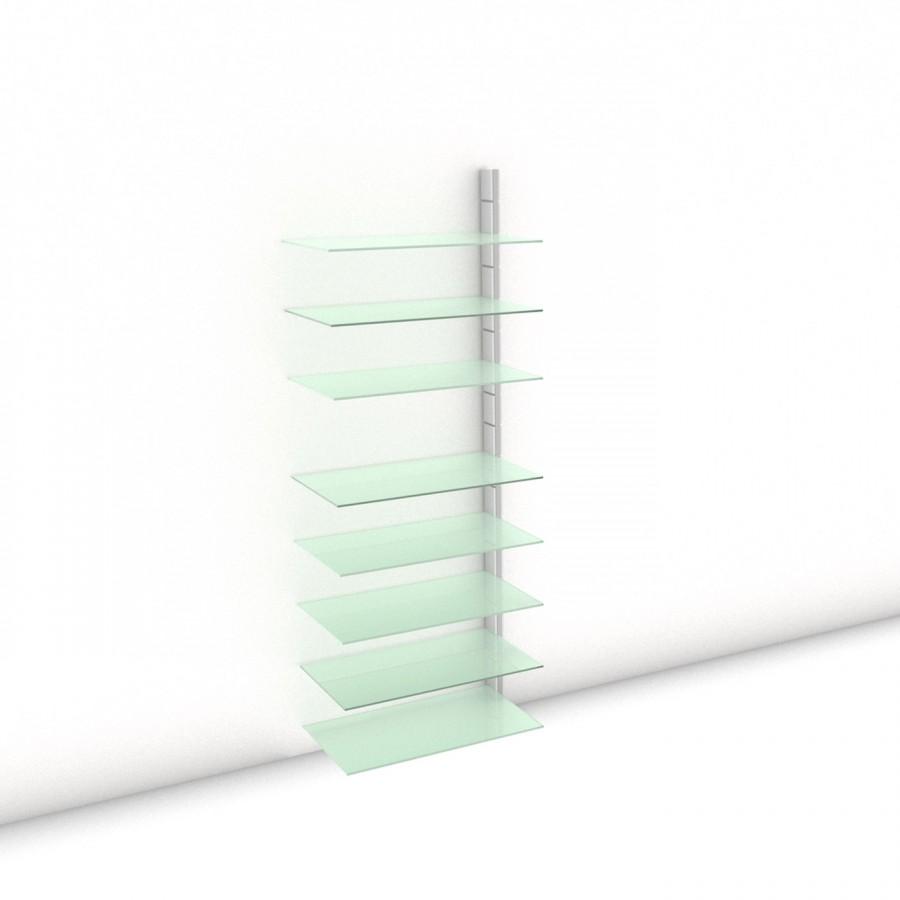 Begehbarer Kleiderschrank - Prime (XL) 81 - Anbauelement LAY - Maß: 81 x 215,2 x 45 cm (B x H x T)