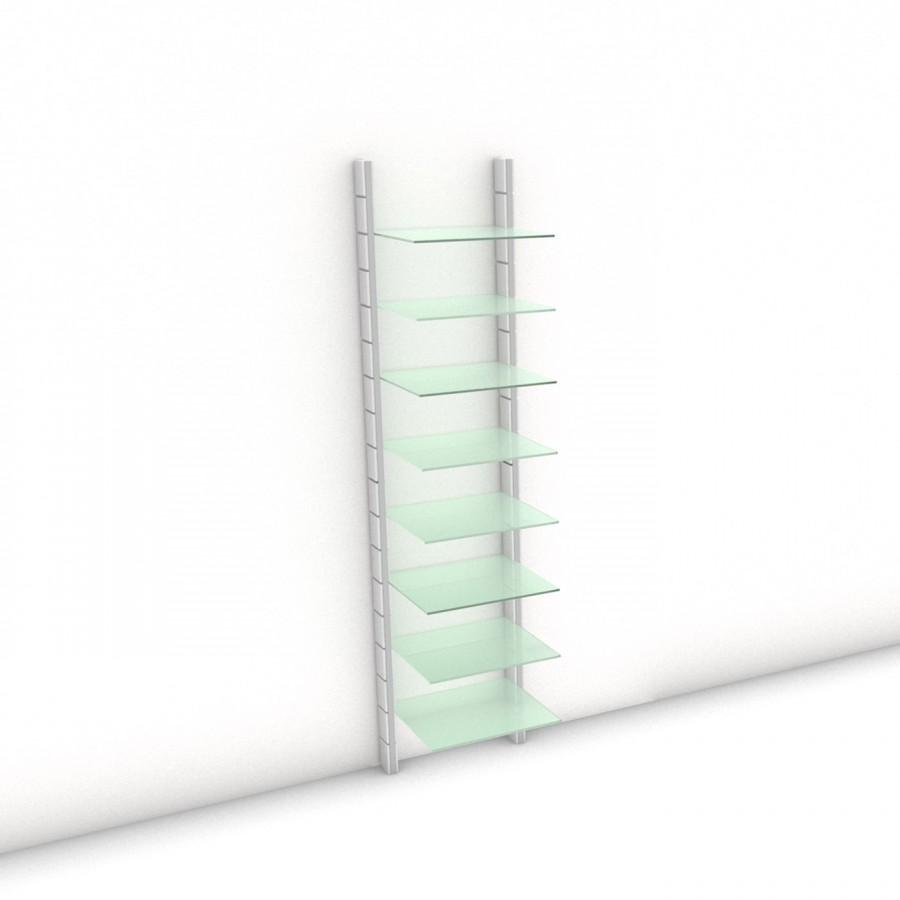 Begehbarer Kleiderschrank - Comfort (XL) 54 - Maß: 54 x 215,2 x 45 cm (B x H x T)