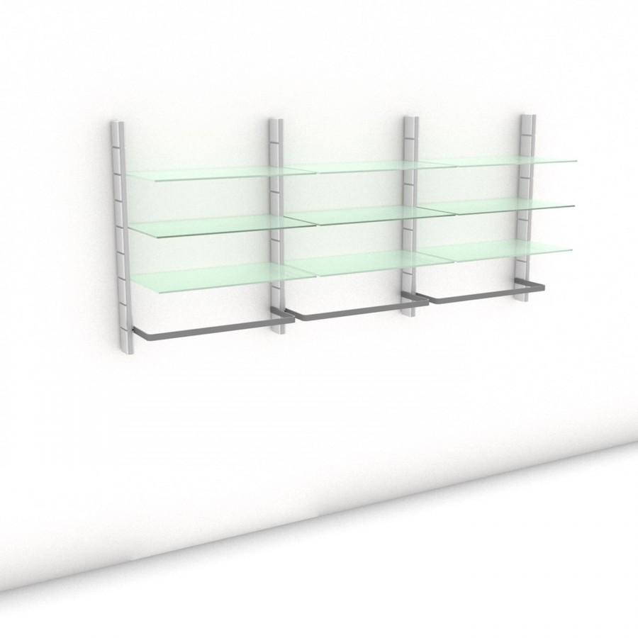 Begehbarer Kleiderschrank - Prime (M) 244 - Maß: 244 x 107,2 x 45 cm (B x H x T)