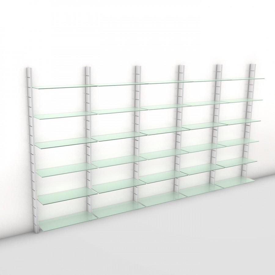 Bücherregal - Prime (XL) 404 - Maß: 404 x 215,2 x 30 cm (B x H x T)