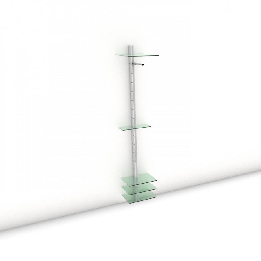 Garderobe - COAT-RACK - Maxi (XL) 40 - Maß: 40 x 215,2 x 45 cm (B x H x T)